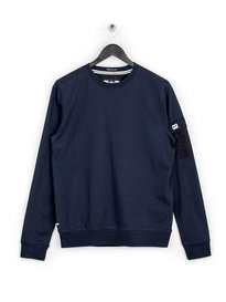 WEEKEND OFFENDER TRENT SWEAT TOP NAVY