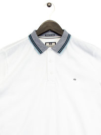 Weekend Offender Vesper Polo White