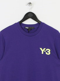 Y-3 AP2354 M CL S/S TEE PURPLE