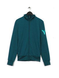Y-3 TRACK TOP TURQUOISE