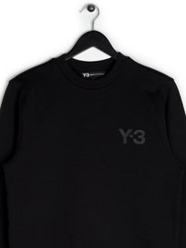 Y-3 Crew Sweater Black