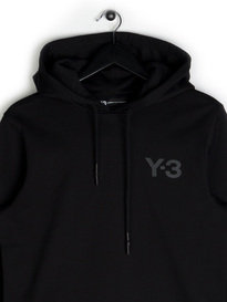 Y-3 Hooded Sweat Black