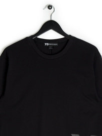 Y-3 LS Crew Neck T-Shirt Black