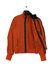 Y-3 M 3 Stripe Track Jacket Orange