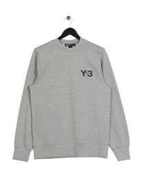 Y-3 M CL Crew Sweat Grey