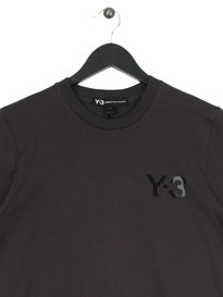 Y-3 M Cl Short Sleeve T-Shirt Grey