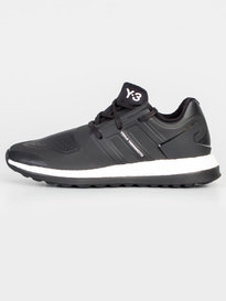 Y-3 PURE BOOST ZG TRAINERS BLACK