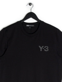 Y-3 SS Crew Neck T-Shirt Black
