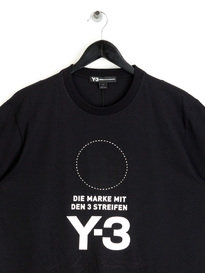 Y-3 Stacked Logo T-Shirt Black