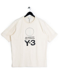 Y-3 Stacked Logo T-Shirt White
