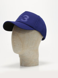 Y-3 Trucker Cap Blue