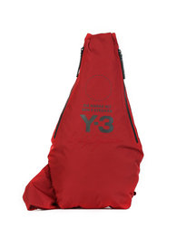 Y-3 Yohji Messager Bag Red