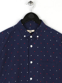 You Must Create P2Fav Dot Db Shirt Navy