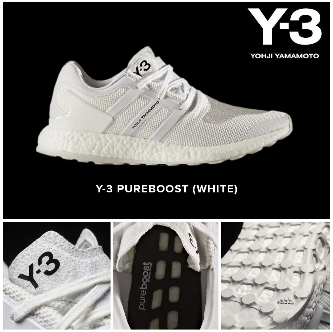 coupon codes most popular get cheap Y3 Pureboost: Triple White | Xile Clothing